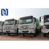 China 9m3 / 10m3 / 12m3 336hp Large Concrete Mixer Cabin HW76 One Sleeper With Air - Conditioner on sale