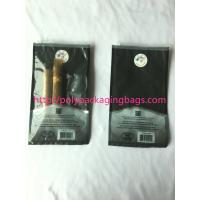 Buy cheap custom made printed plastic cigar packaging bag / cigar humidor bag with slid from wholesalers