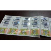 Buy cheap Waterproof 15 microns Anti - Counterfeit Sticker Security Label , Security Hologram Sticker from wholesalers