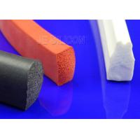Multi Functional Silicone Sponge Rubber Strips Thermotolerant Fuel Resistant Manufactures