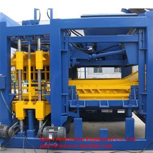 Auto Cement Block Maker Machine Hollow Brick Productivity 16800-22500 Pcs/10 hour Manufactures