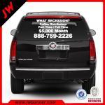 High quality custom car vinyl sticker car number anti radar sticker Manufactures