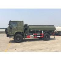Gasoline Transporting Oil Tank Truck / Petroleum Tanker Trucks 4X4 LHD SGS Approved Manufactures