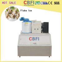 Cheap Supermarkets Ice Flake Maker , Industrial Ice Maker Machine With Stainless Steel 304 for sale