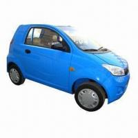 Electric Car with 4kW DC Motor, 45kph Maximum Speed and 120km Running Distance, EEC Approved Manufactures