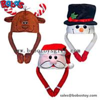 Soft Plush Warm Winter Cap Animal Party Hat Christmas Hat Manufactures