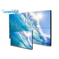 Cheap Wall Mounted Lcd Ad Display , Splicing Commercial Video Wall With Samsung Panel for sale