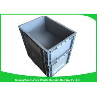 Euro Industrial Plastic Containers , Customized Euro Plastic Storage Boxes Manufactures