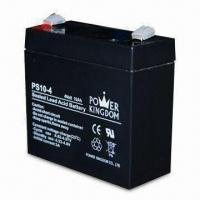 Sealed Lead-acid Battery with 4V Voltage/10Ah Nominal Capacity, Used for Emergency Lighting System Manufactures