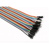 Male To Male Jumper Wires Breadboard And Wire Kit Green Black Yellow White Blue Manufactures