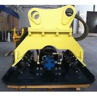 Powerful Compaction Hydraulic Compactors For Excavators With Overload Protection Manufactures