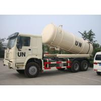 Collecting Sewage Sludge Vacuum Pump Septic Tank Cleaning Truck LHD 6X4 Manufactures