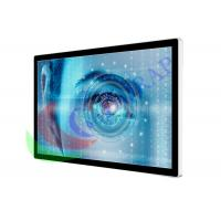 65 Inch Airport  Digital Signage LCD Advertising Player Touch Screen RAM 4GB Hard Disk 500G