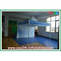 Fire Resistance Folding Tent Aluminum / Iron Frame Oxford Cloth Manufactures