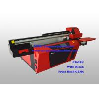Commercial Multicolor Flatbed Wood UV Printer With Ricoh Industrial Print Head Manufactures