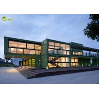 China Expandable Prefab Modular Container Housing Steel Frame Building on sale