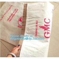 kraft paper laminated pp woven bag for industry,paper bags laminated woven sack kraft poly lined bags with your own logo Manufactures