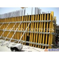 Professional Custom Concrete Column Formwork With H20 Wooden Beam And Steel Walers Manufactures