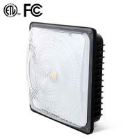 70 Watt White LED Low Bay Lights 8600lm DLC Listed Surface Mount For Public Venues Manufactures