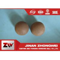 Custom 60mn Forged Steel Grinding Media Balls For Copper Mining
