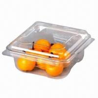 China Disposable Food Box for Fruits and Vegetables/Eco-friendly and Food Grade/Beautiful and Fashionable on sale