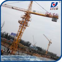 Cheap 6 Tons Building Tower Crane Construction Safety Equipment For Sale for sale