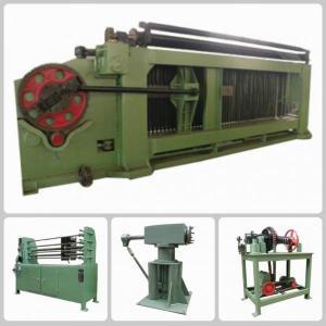 Double Twist Hexagonal Mesh Machine / Gabion Machine In Oil And Construction Manufactures