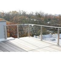 Modern Style Customized Stainless Steel Railing Stair Post Galvanized Steel Deck Balustrade Manufactures