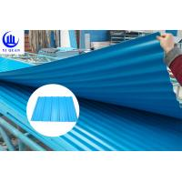 Fire Resistance PVC Roof Tiles Sheet For Warehouse , Customize Length Manufactures
