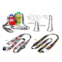 Polyester Bottle Holder Lanyard With Adjustic Buckle