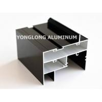 High Hardness Curtain Wall Aluminum Profiles Light Easy Processing / Installation Manufactures