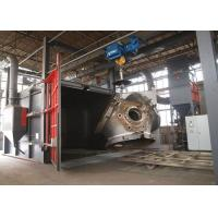 Rust Removal Shot Blast Cleaning Equipment For Forging Parts Heavy Duty 22KW Manufactures