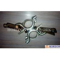 Self Colour Scaffolding Accessories ,  Double Swivel Coupler Easy Operation Manufactures