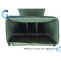 Green ATM Spare Parts Cassette Bag With Five Cassettes , Automated Teller Machine Components Manufactures