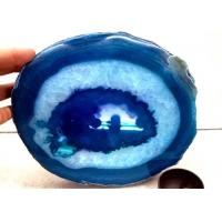 Polished Surface Natural Modern Agate Stone Slice Big Size Tray Manufactures