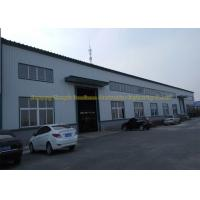 Prefabricated Flat Roof Steel Workshop Buildings Environment Protection Manufactures