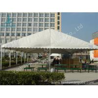 UV Resistant and Waterproof Aluminum Alloy Outdoor Event Tent White PVC Fabric Cover Manufactures