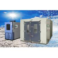 Cheap Larger Volume Electroplated SUS304 Walk-in Climatic Test Chamber / Rooms for sale