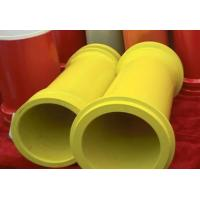 """Cheap DN175(7"""") Heat Treating Concrete Pump Hardened Pipe With FM / ZX Flange for sale"""