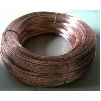 durable flat enameled copper wire Gold plating metal steel wire Manufactures