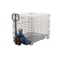 Durable Collapsible Wire Mesh Containers Storage Wire Cage Stackable Stillages Manufactures
