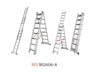 Anti Corrosion 3x14 1.2mm Multi Folding Ladder Manufactures