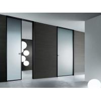 High Light Transmission Tempered Glass Door Satin Acid Etched For Semi Private Squares Manufactures