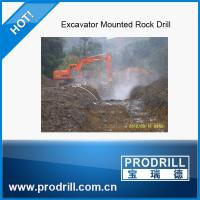 PD-45 Excavator Mounted Drill with drift hammer 45 Manufactures