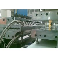 China Half - Crust Foamed PVC Sheet Production Line For Furniture Board Making on sale