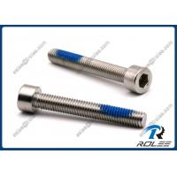 Buy cheap 304/316 Stainless Steel Nylon Patch Self Locking Socket Cap Screws from wholesalers