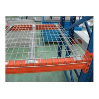 Zinc Finish Steel Pallet Rack Wire Decking Good  Fire Safety Performance Manufactures