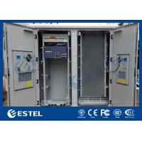 IP55 Base Station Cabinet , Outdoor Data Cabinet With Rectifier System PDU Manufactures