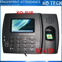Biometric Optical Fingerprint Reader Time Attendance System FU8 Manufactures