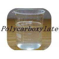 Transparent Pale Yellow Polycarboxylate Concrete Admixtures / Concrete Polymer Additives Manufactures